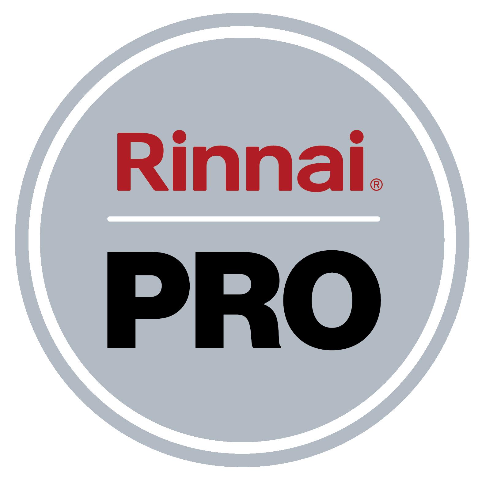 Rinnai Badge